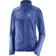Salomon Agile Running Jacket Women blue